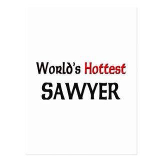 El aserrador más caliente de los mundos postal