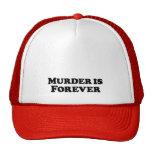 El asesinato es para siempre - básico gorros bordados
