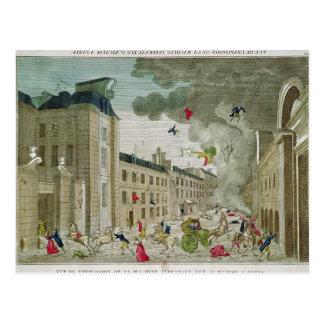 El asesinato frustrado de Napoleon Bonaparte Tarjetas Postales
