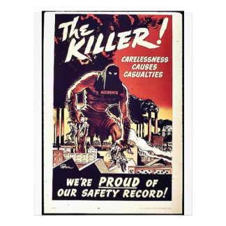 "El asesino folleto 8.5"" x 11"""