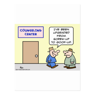 el asesoramiento aumentado estropea el goof para postales