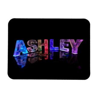El Ashley conocido en las luces 3D Imanes De Vinilo