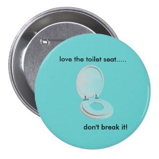 el asiento de inodoro, ama el asiento de inodoro . pins