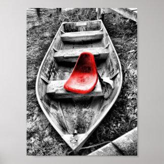 el asiento rojo posters