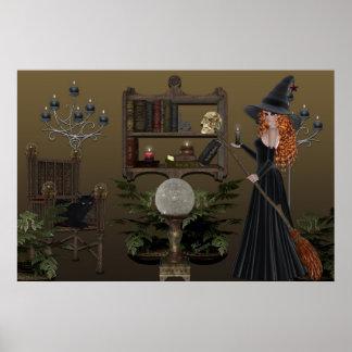 El asilo de la bruja póster
