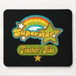 El asistente del profesor de la superestrella mouse pads