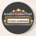 El asistente legal más grande del mundo posavasos diseño