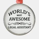 El asistente legal más impresionante del mundo ornamento de reyes magos