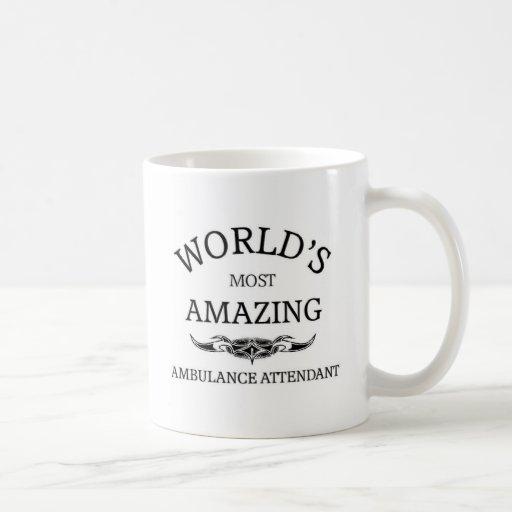 El asistente más grande de la ambulancia del mundo taza clásica