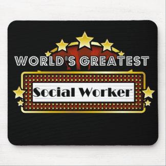 El asistente social más grande del mundo alfombrilla de raton