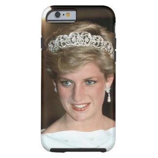 ¡El asolear! Princesa de Gales de HRH Funda De iPhone 6 Tough