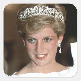 ¡El asolear! Princesa de Gales de HRH Colcomanias Cuadradas