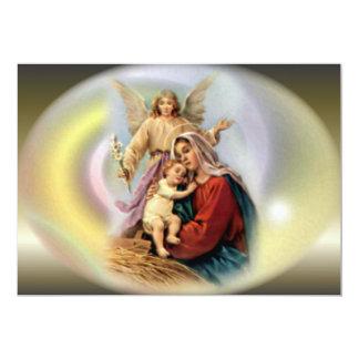 El aspecto de ángeles y del Virgen María bendecido Anuncio Personalizado