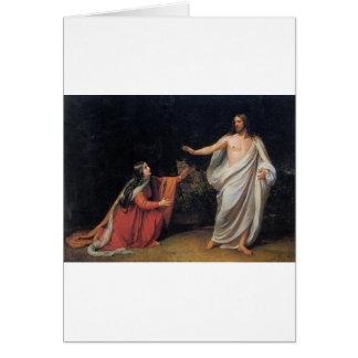 El aspecto de Cristo a Maria Magdalena Felicitacion