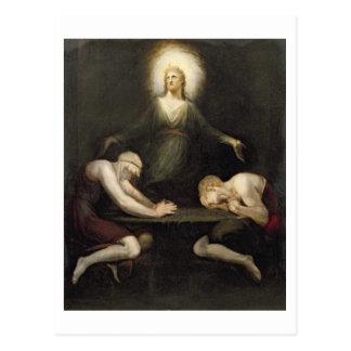 El aspecto de Cristo en Emmaus, 1792 (aceite en c Tarjetas Postales