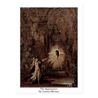 El aspecto de Gustave Moreau Postales
