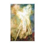 El aspecto, impresión del arte del ángel en lona lienzo envuelto para galerías