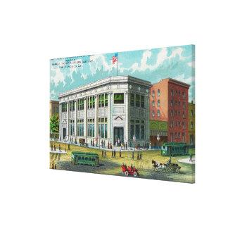 El Assn. continental del edificio y del préstamo Impresiones En Lienzo Estiradas