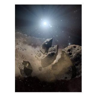 El asteroide de NASAs muerde el polvo Postal