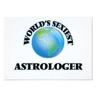 El astrólogo más atractivo del mundo invitación 12,7 x 17,8 cm