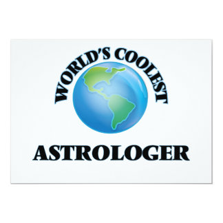 el astrólogo MÁS FRESCO de los mundos Invitación 12,7 X 17,8 Cm