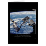 El astronauta David A. Wolf transfiere el O de est Tarjeta