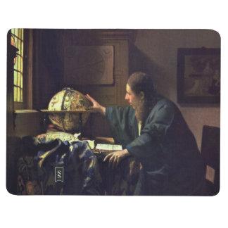 El astrónomo de Juan Vermeer Cuaderno Grapado