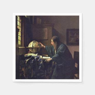 El astrónomo de Juan Vermeer Servilletas De Papel