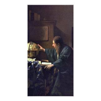 El astrónomo de Juan Vermeer Tarjeta Personal