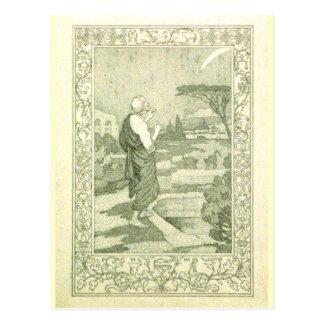 El astrónomo tarjeta postal