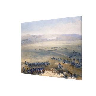 El asunto de la caballería de las alturas de Bulga Impresion En Lona