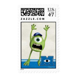 El asustar de Mike Sellos Postales
