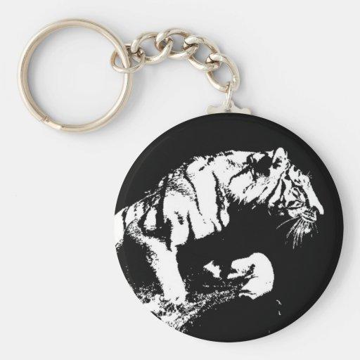 El atacar del tigre llavero