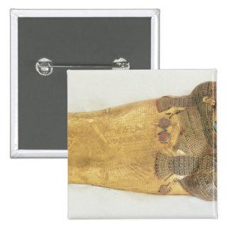 El ataúd íntimo del rey pin cuadrada 5 cm