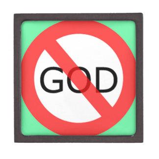 el ateísmo caja de recuerdo de calidad