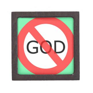 el ateísmo cajas de joyas de calidad