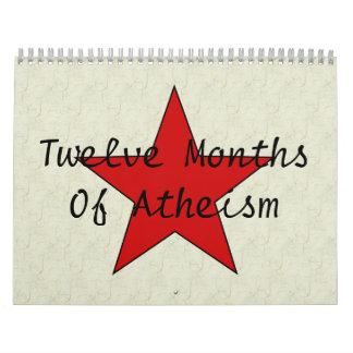 El ateísmo de doce MonthsOf Calendario