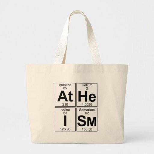 El ateísmo (el ateísmo) - por completo bolsas de mano