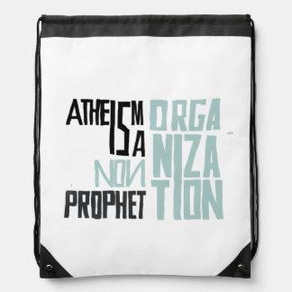 El ateísmo es no una organización del profeta mochila