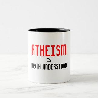 El ateísmo es taza entendida mito