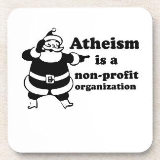 El ateísmo es una organización sin ánimo de lucro posavasos de bebidas