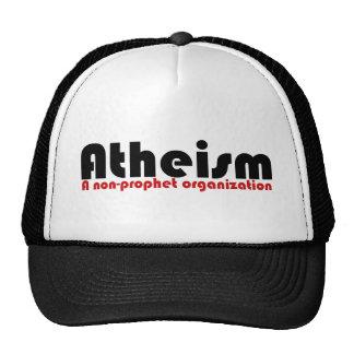 El ateísmo gorro de camionero