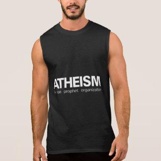 El ateísmo no una organización del profeta remeras sin mangas
