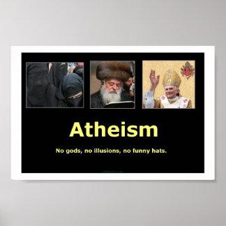 El ateísmo póster