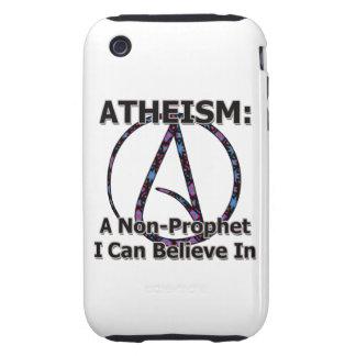 El ateísmo: Un No-Profeta que puedo creer adentro Carcasa Though Para iPhone 3
