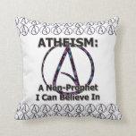El ateísmo: Un No-Profeta que puedo creer adentro Almohadas