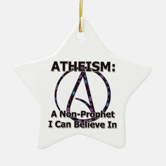 El ateísmo: Un No-Profeta que puedo creer adentro Adornos