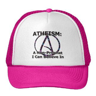 El ateísmo: Un No-Profeta que puedo creer adentro Gorras