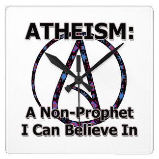 El ateísmo Un No-Profeta que puedo creer adentro Relojes