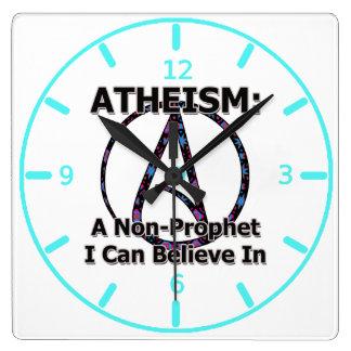 El ateísmo Un No-Profeta que puedo creer adentro Reloj